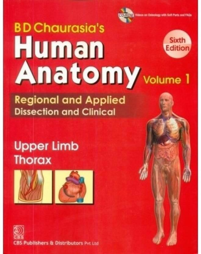 Human Anatomy 6/e VOl 1 (Upper Limb Thorax) {PB}: Buy Human Anatomy ...