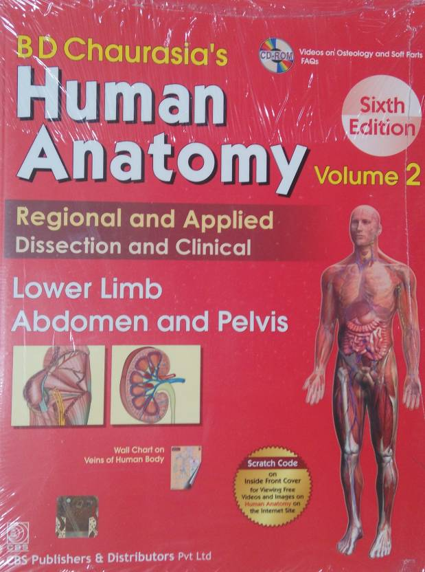 Human Anatomy 6e Vol 2lower Limb Abdomen Pelvis Pb Buy