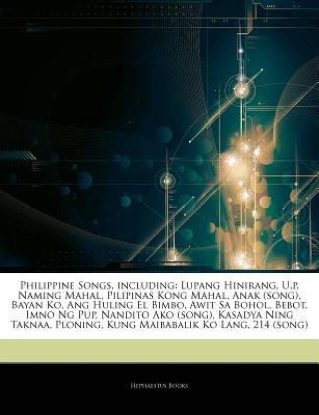 Articles On Philippine Songs, including: Lupang Hinirang