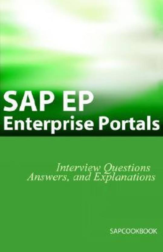 SAP Ep: SAP Enterprise Portals Interview Questions, Answers