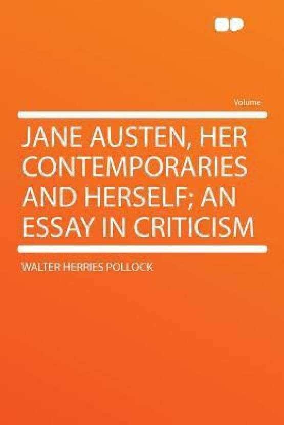 Jane Austen Her Contemporaries And Herself An Essay In Criticism  Jane Austen Her Contemporaries And Herself An Essay In Criticism Healthy Food Essay also Pay Someone To Do My Online Class  My Assignment Help Uk