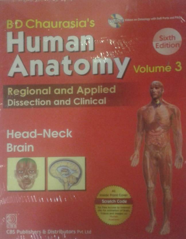 Human Anatomy Vol. 3- 6th Ed. with CD: Buy Human Anatomy Vol. 3- 6th ...