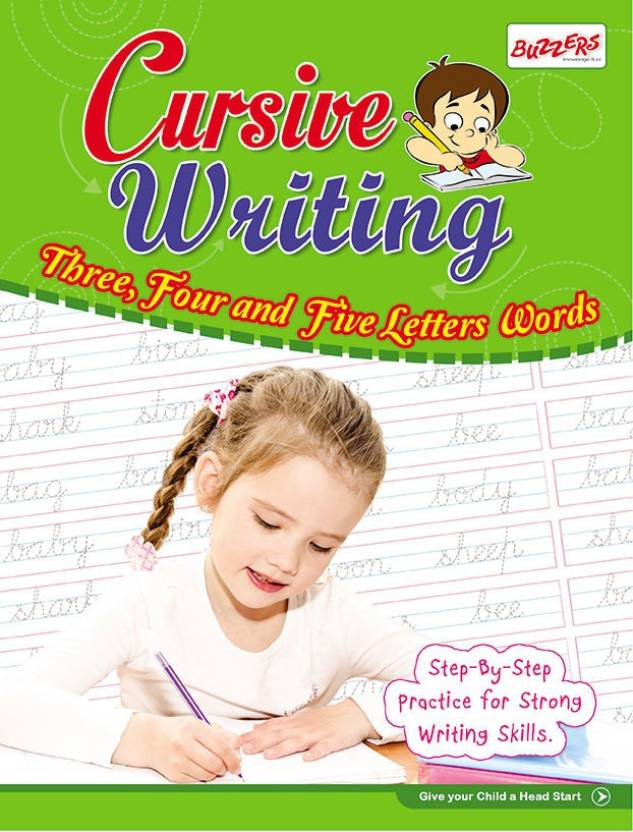 Cursive Writing 3 Letters 4 Letters & 5 Letter Words Buy
