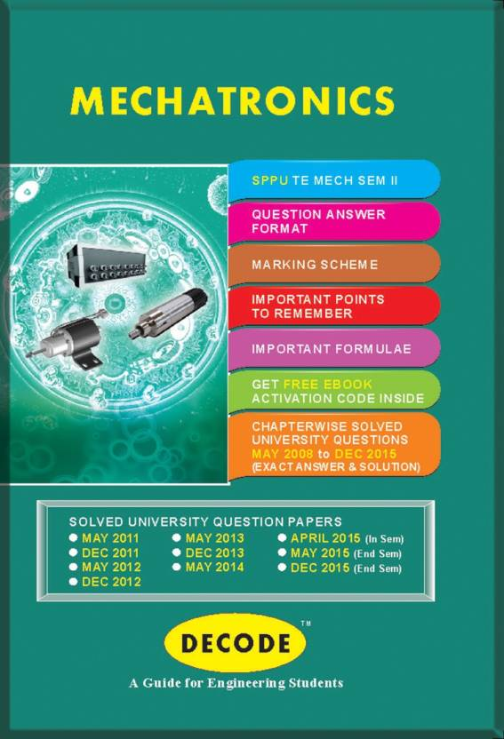 DECODE Mechatronics for SPPU (TE Mech Sem-II 2012 course