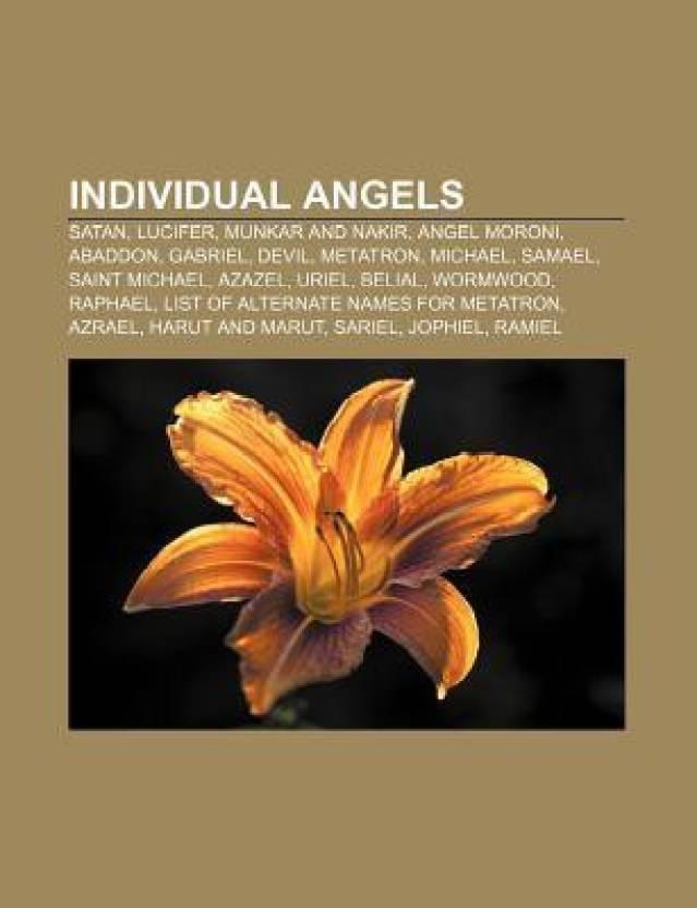 Individual Angels: Satan, Lucifer, Munkar and Nakir, Angel