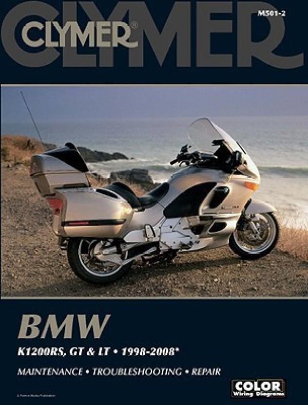 bmw k1200rs gt lt 1998 2008 clymer color wiring diagrams buy rh flipkart com BMW 2002 Wiring Diagram PDF 2002 bmw k1200rs wiring diagram