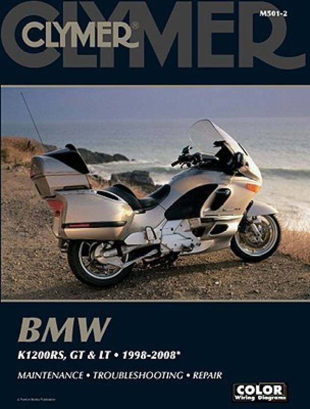 bmw k1200rs, gt & lt: 1998-2008 (clymer color wiring diagrams) (english,  paperback, james grooms)