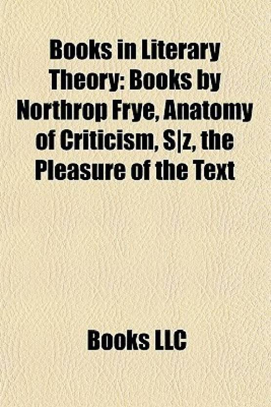 Books in Literary Theory (Study Guide): Books by Northrop Frye ...