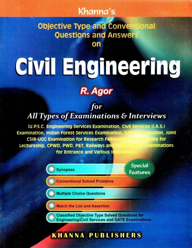 Conventional & Objective Type Questions & Answers on Civil Engineering 27thedition Edition