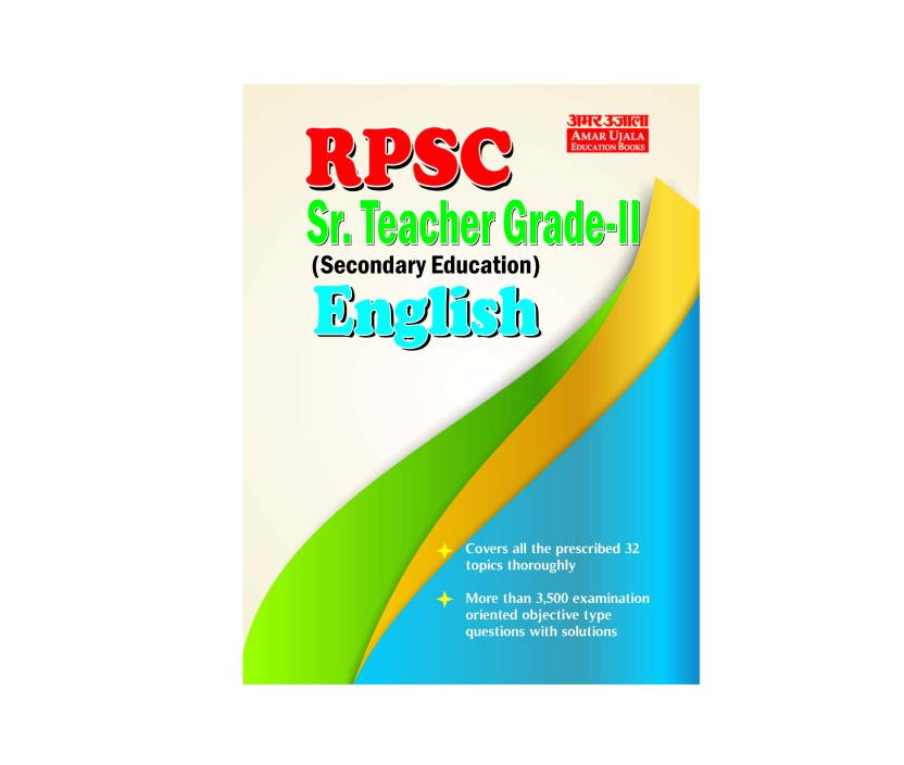 RPSC Teacher Gr. Grade-II (Secondary Education) English