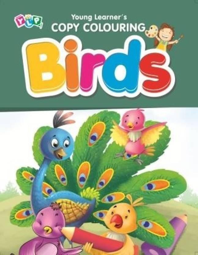 Birds - Copy Colouring Book Y-134