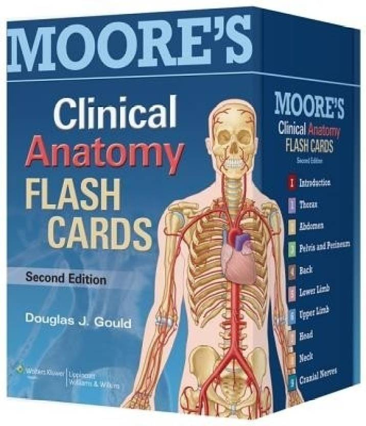 Moores Clinical Anatomy Flash Cards Buy Moores Clinical Anatomy