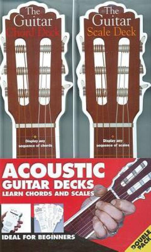 The Acoustic Guitar Chord & Scale Decks