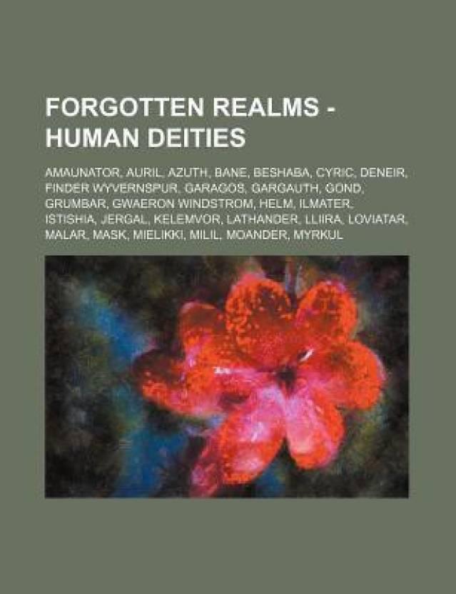 Forgotten Realms - Human deities: Amaunator, Auril, Azuth