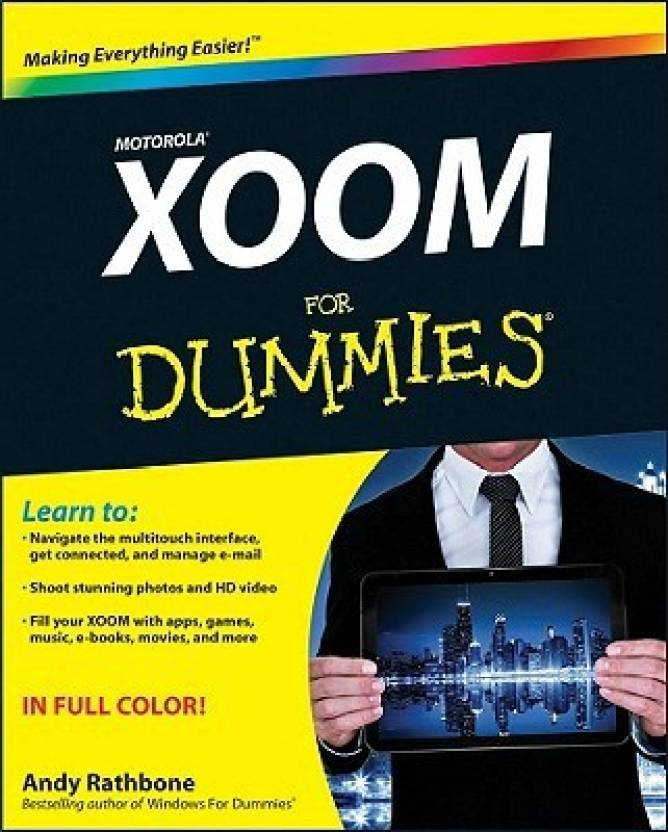 Motorola Xoom For Dummies: Buy Motorola Xoom For Dummies by