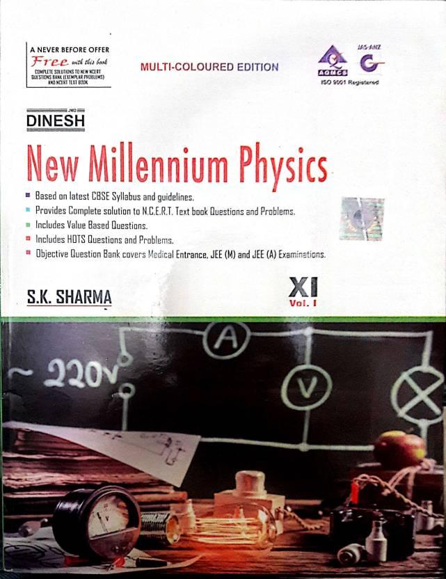 DINESH NEW MILLENNIUM PHYSICS CLASS 11: Buy DINESH NEW