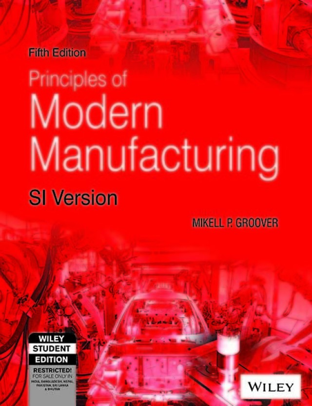 Fundamentals Of Modern Manufacturing 5th Edition Pdf