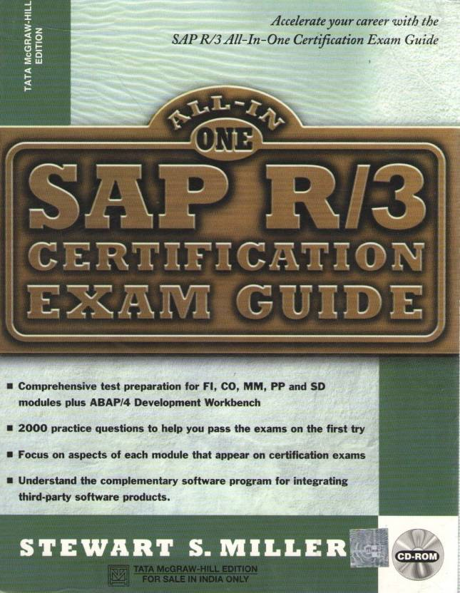 SAP R/3 Certification Exam Guide (With CD-ROM) 1st Edition - Buy SAP ...