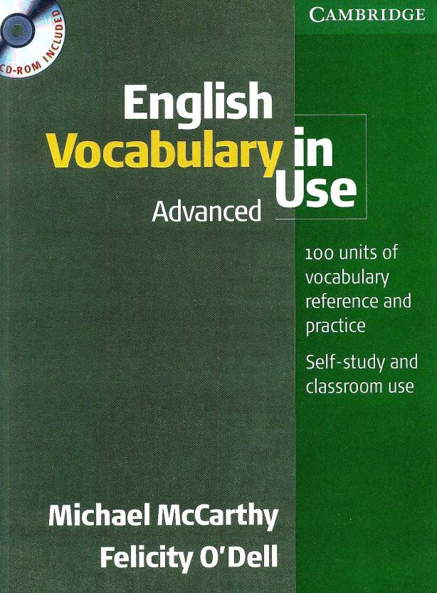 English Vocabulary In Use Advanced (With Cd-Rom) 1st Edition