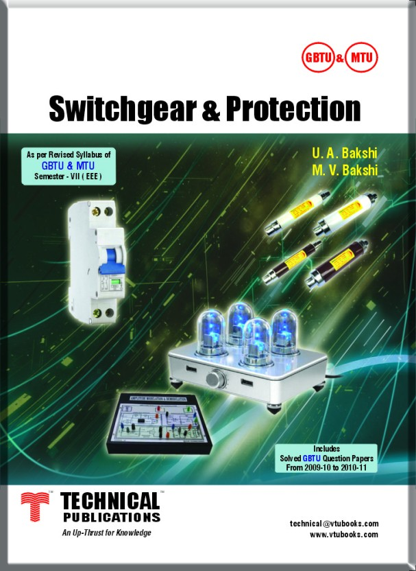 Switchgear Protection and Power Systems by SUNIL S RAO