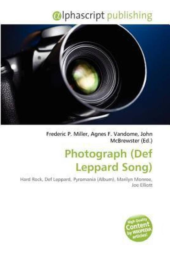 Photograph (Def Leppard Song): Buy Photograph (Def Leppard
