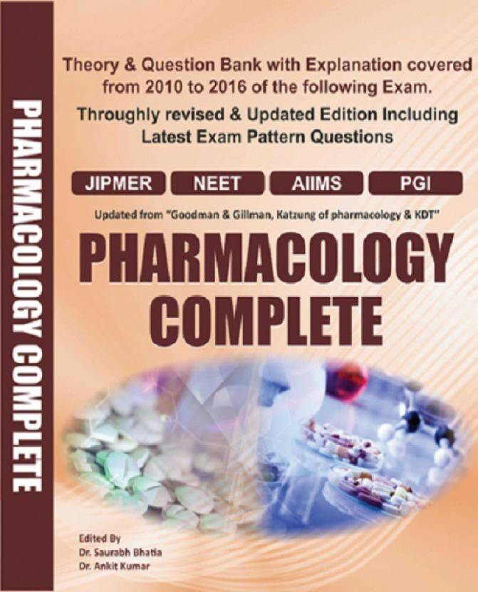 A book of Pharmacology