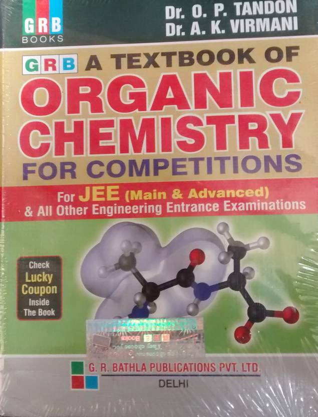 A New Pattern Textbook of Organic Chemistry for Competitions 16 Edition