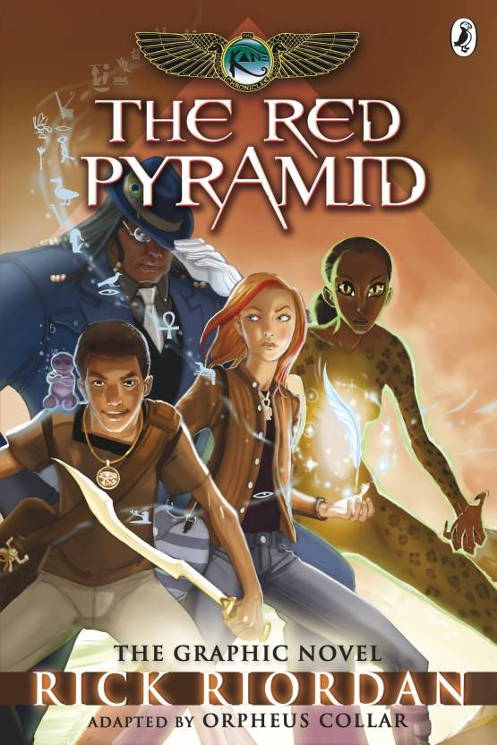 The Kane Chronicles: The Red Pyramid: The Graphic Novel