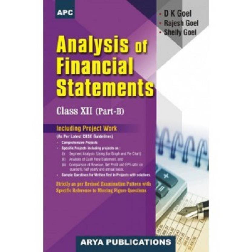 APC Analysis of Financial Statements For CBSE Class - XII, Part - B (Including Project Work