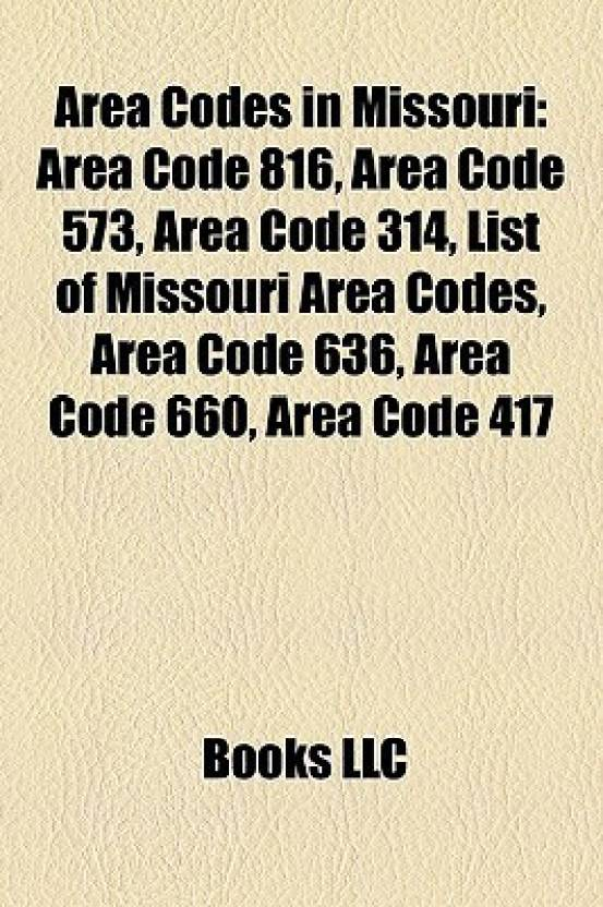 Area Codes In Missouri Area Code Area Code Area Code - Area code missouri