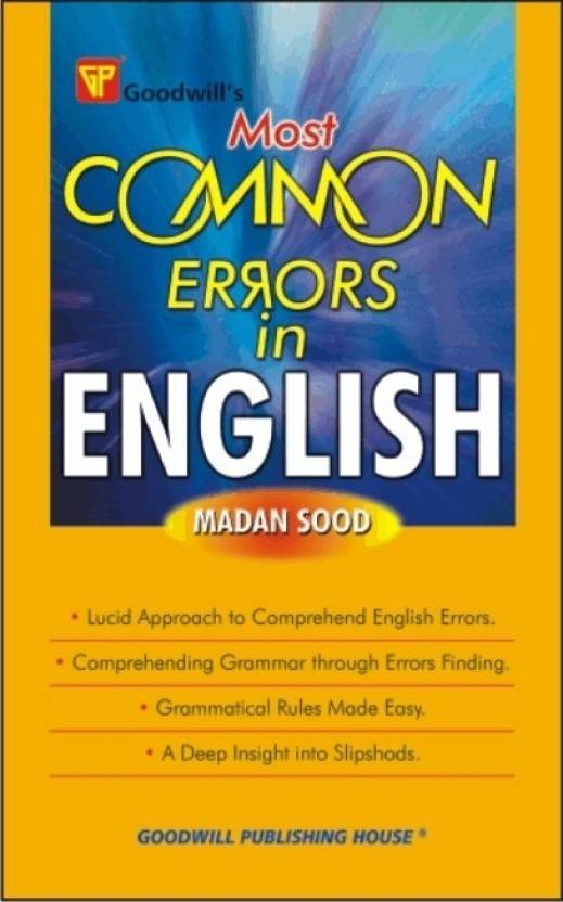 Most Common Errors in English G-440 01 Edition