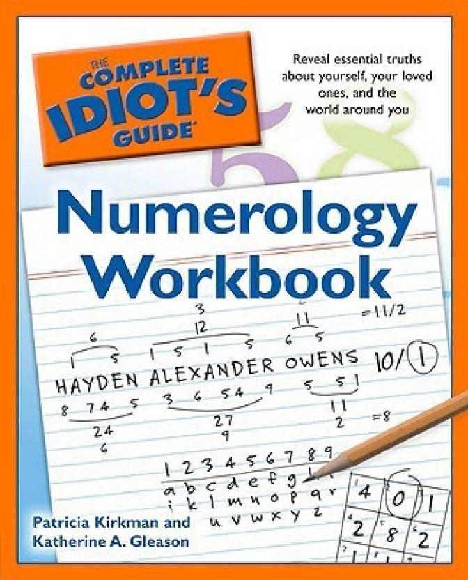 The Complete Idiot's Guide Numerology Workbook Workbook Edition: Buy