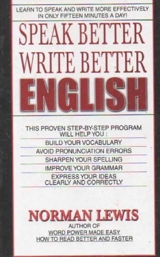 speak better write better english norman lewis pdf download