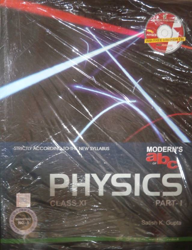 Modern's abc of Physics for Class - 11, Part - 1 & 2 (With CD) 24th Edition