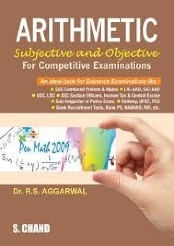 Arithmetic For Competitive Examinations