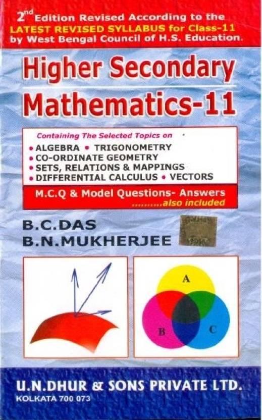 Higher Secondary Mathematics (Class XI): Buy Higher