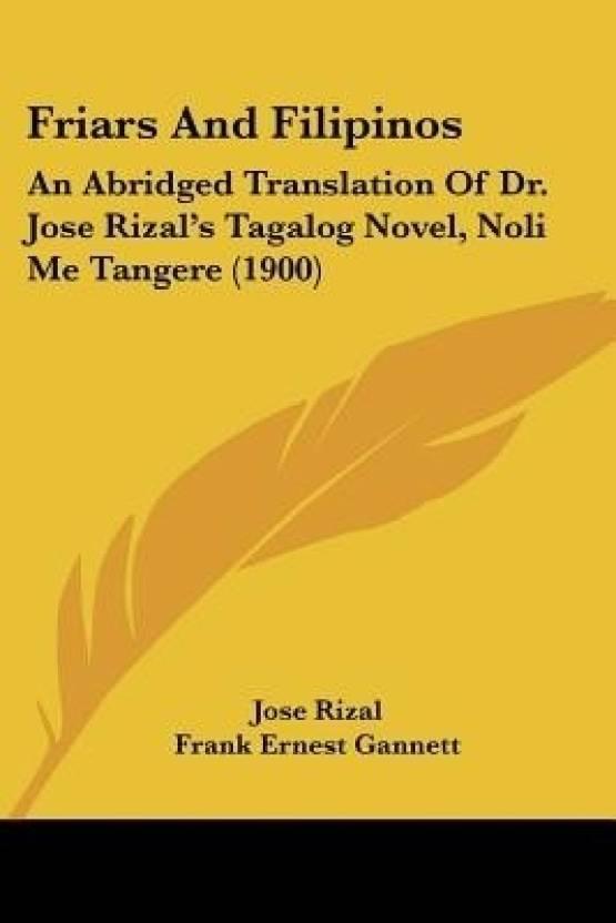 Friars and Filipinos: An Abridged Translation of Dr  Jose
