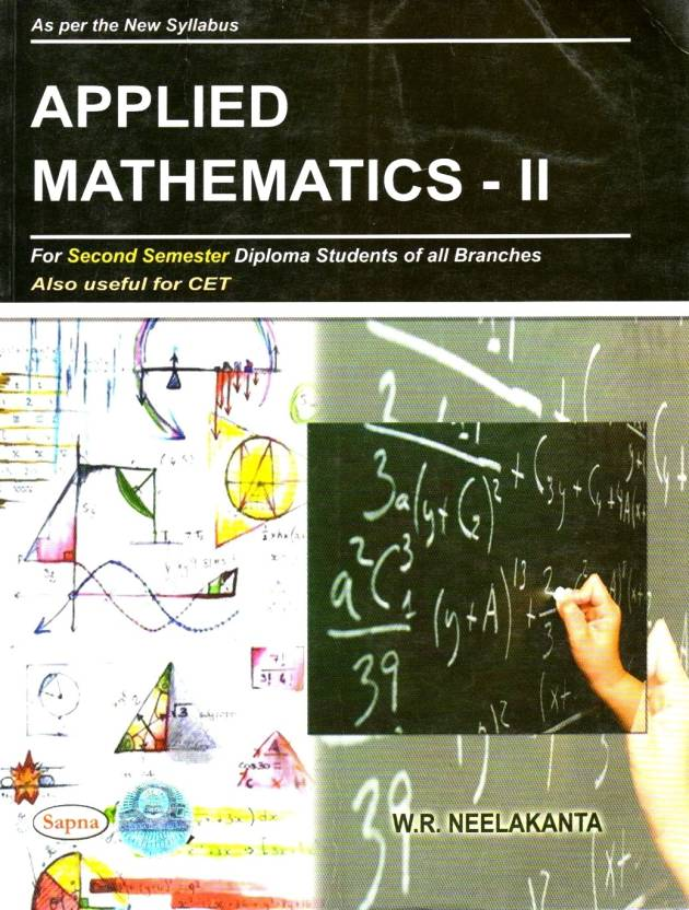 Applied Mathematics - II: For Second Semester Diploma