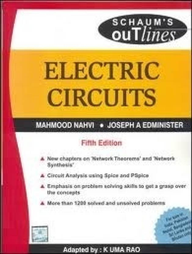 Electric Circuits 5th Edition Buy Electric Circuits 5th Edition By