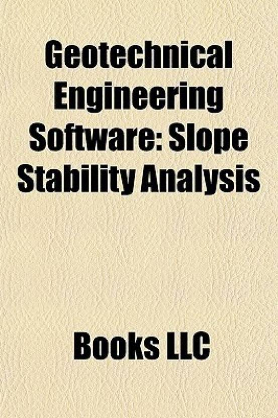 Geotechnical Engineering Software: Slope Stability Analysis: Buy