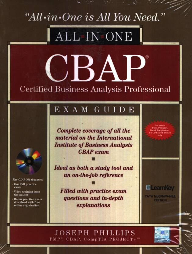 Cbap Certified Business Analysis Professional All In One Exam