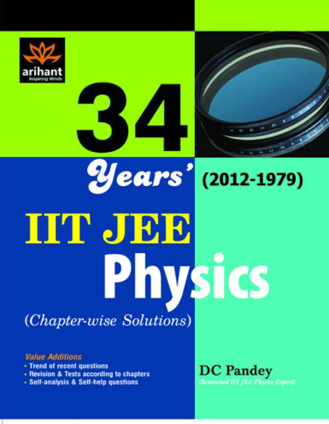 physics IIT JEE solutions chapters 34 year 01 Edition