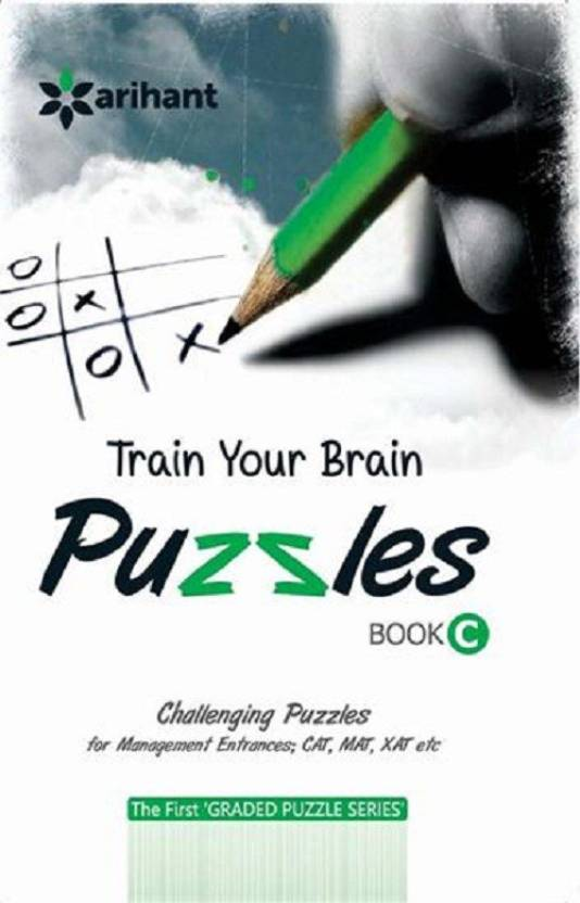 Train Your Brain Puzzles Book C: Buy Train Your Brain Puzzles Book C