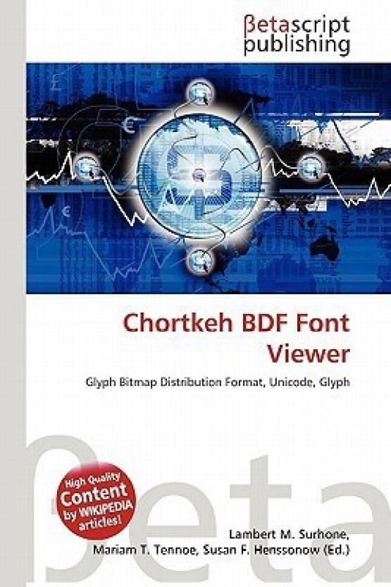 Chortkeh BDF Font Viewer: Buy Chortkeh BDF Font Viewer by Lambert M