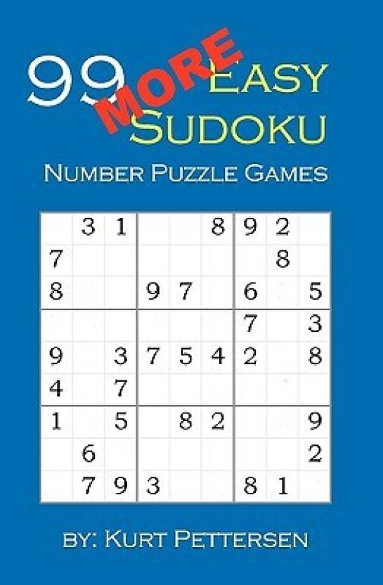 99 More Easy Sudoku Number Puzzle Games Fun For All Sudoku Puzzle