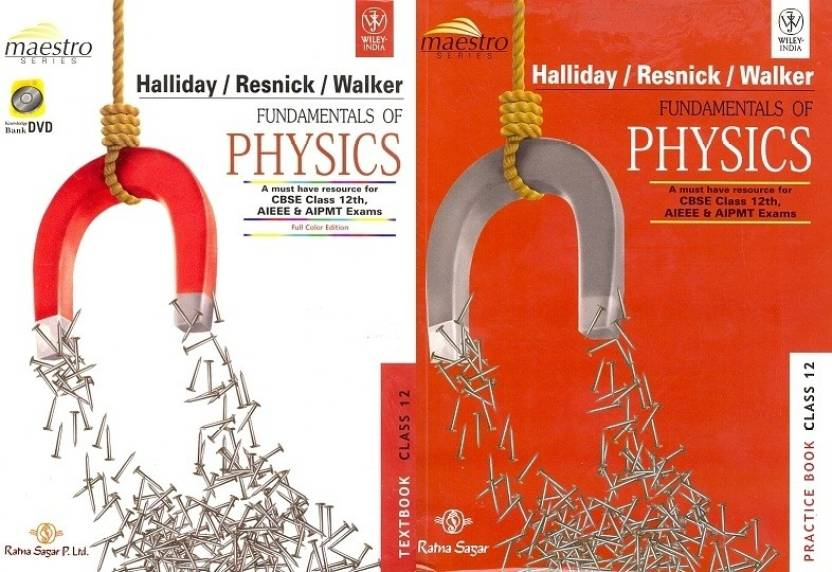 Fundamentals of Physics : A Must-Have Resource Book CBSE JEE and NEET-UG Syllabi for Class - 12 (With CD)