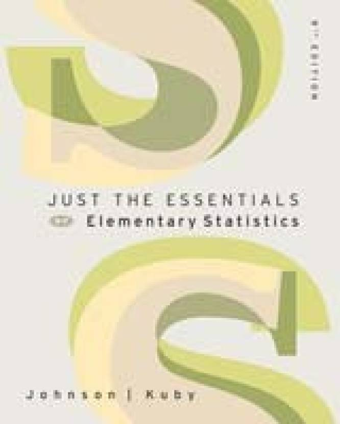 Just the Essentials of Elementary Statistics (with CD-ROM and