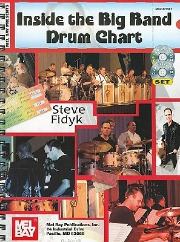 Mel Bay presents Inside The Big Band Drum Chart Bk/MP3 CD