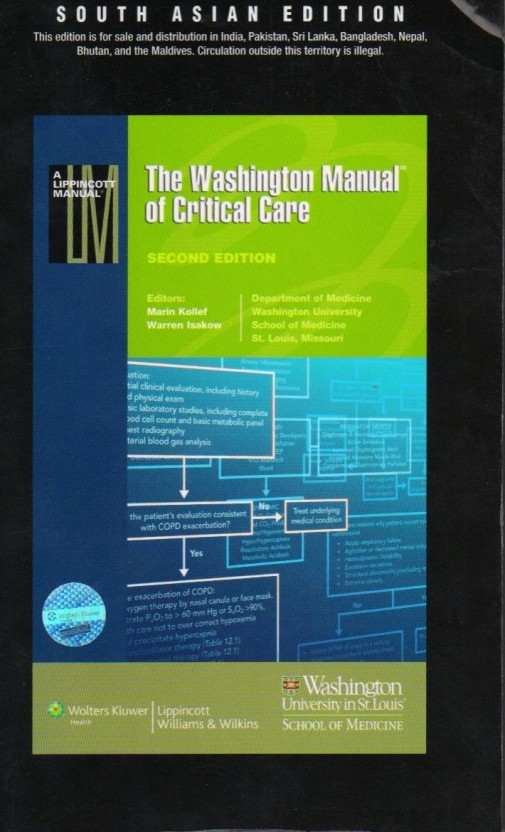 the washington manual of critical care 2nd edition buy the rh flipkart com the washington manual of critical care pdf the washington manual of critical care 3rd edition