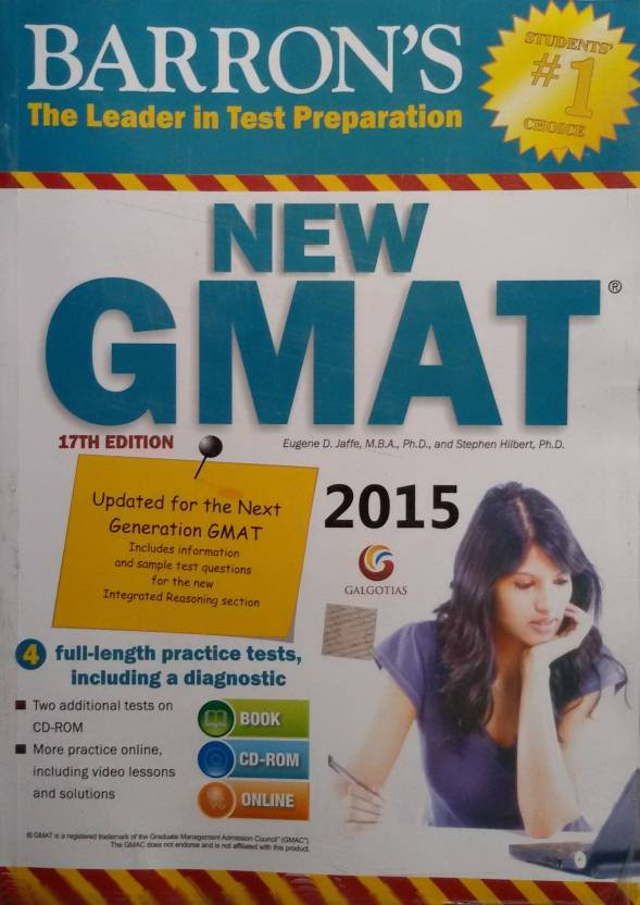 Barrons new gmat 2015 with cd 17th edition buy barrons new barrons new gmat 2015 with cd 17th edition fandeluxe Gallery